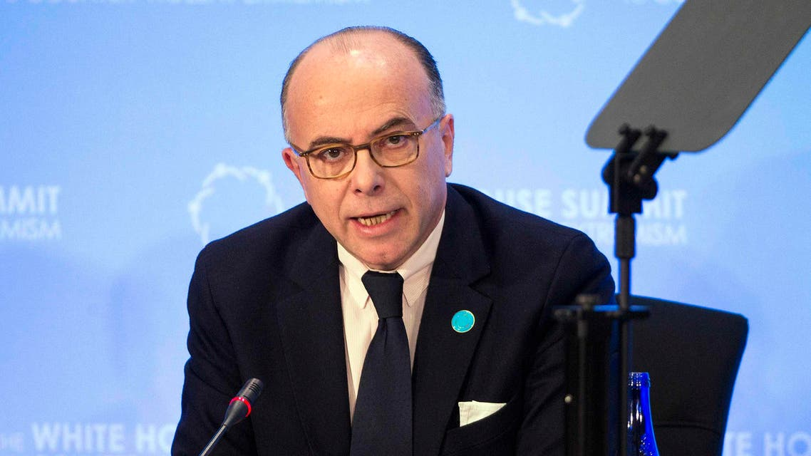 French Interior Minister Bernard Cazeneuve speaks at the Ministerial meeting on Foreign Fighters during in Washington Feb. 19, 2015.  (Reuters)