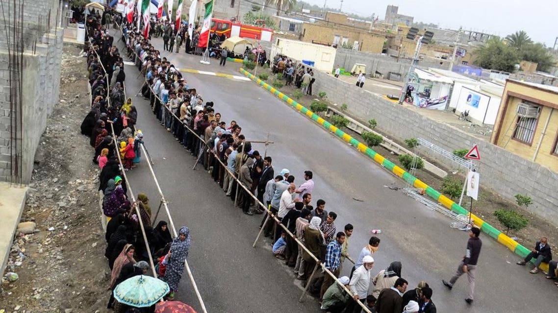 مستشفى لأول مرة في مدينة هشت بندي الإيرانية