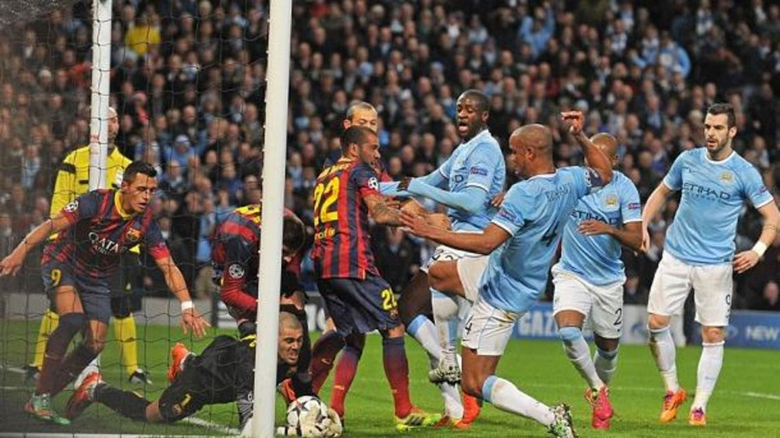 AFP - Man City + Barca