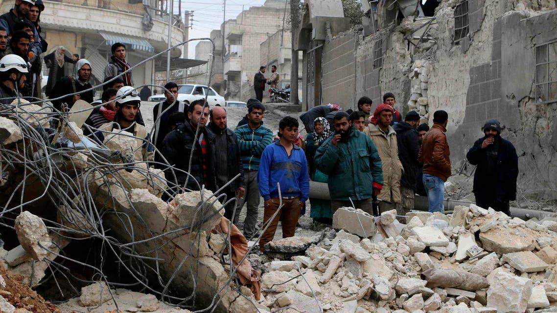 القصف على حلب