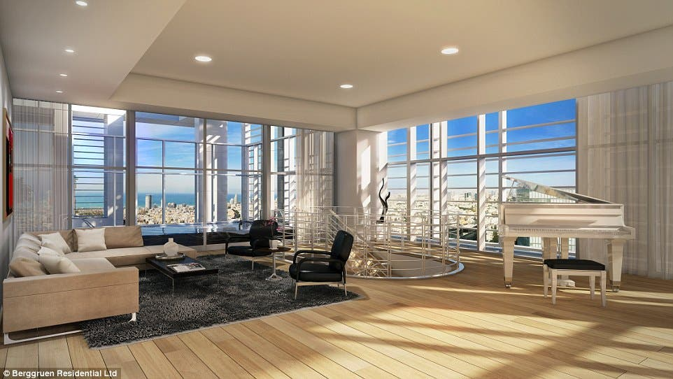 Computer generated images of the planned apartments. (Photo courtesy: Berggruen Residential Ltd.)