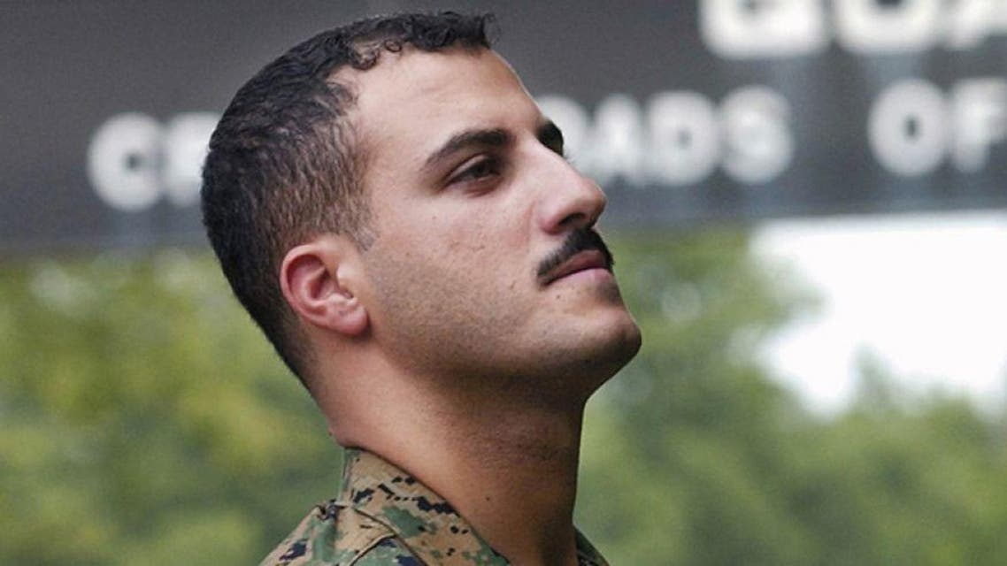 Marine Corporal Wassef Ali Hassoun AP