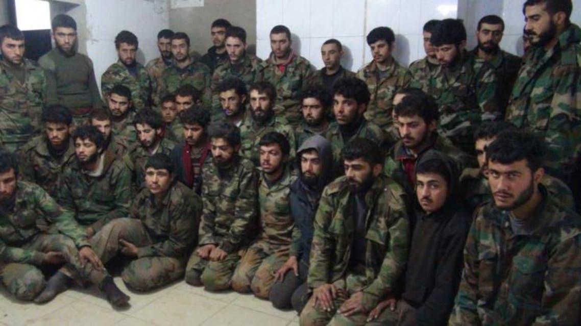"""الأسرى من قوات النظام حزب الله لدى """"الجبهة الشامية"""""""