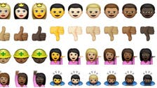 Meet Apple's new ethnically diverse emoji icons