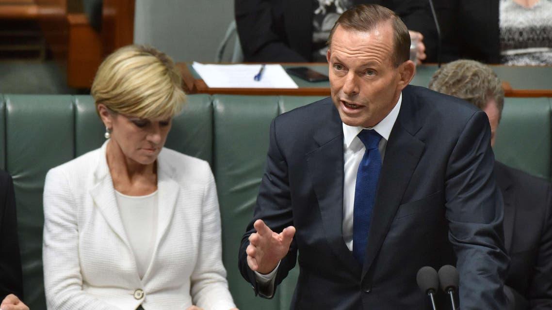 Tony Abott Australia PM AFP