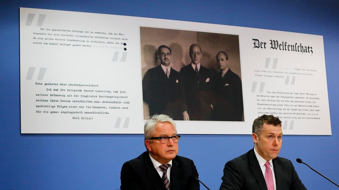 Germany sued in U.S. over Nazi-era sale of art treasure (AP)