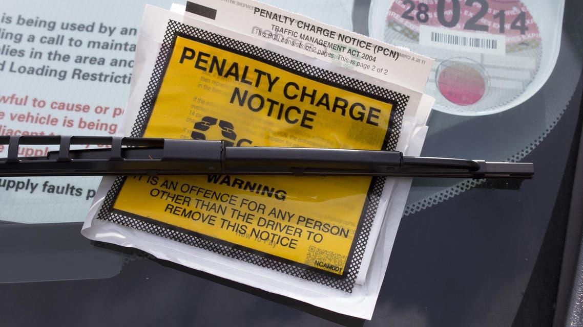 British motorist becomes focus in fine wrangle (Shutterstock)