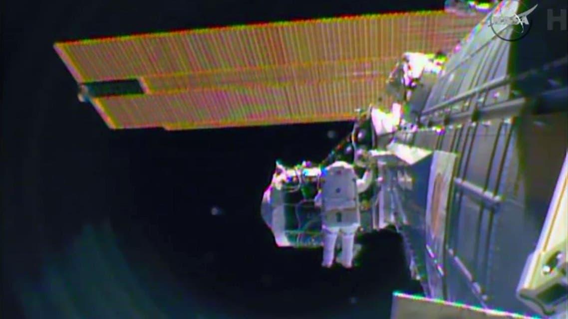 NASA spacewalk AP