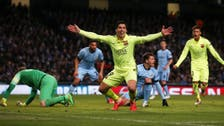 Barca's Suarez bursts from shadow of Messi and Neymar