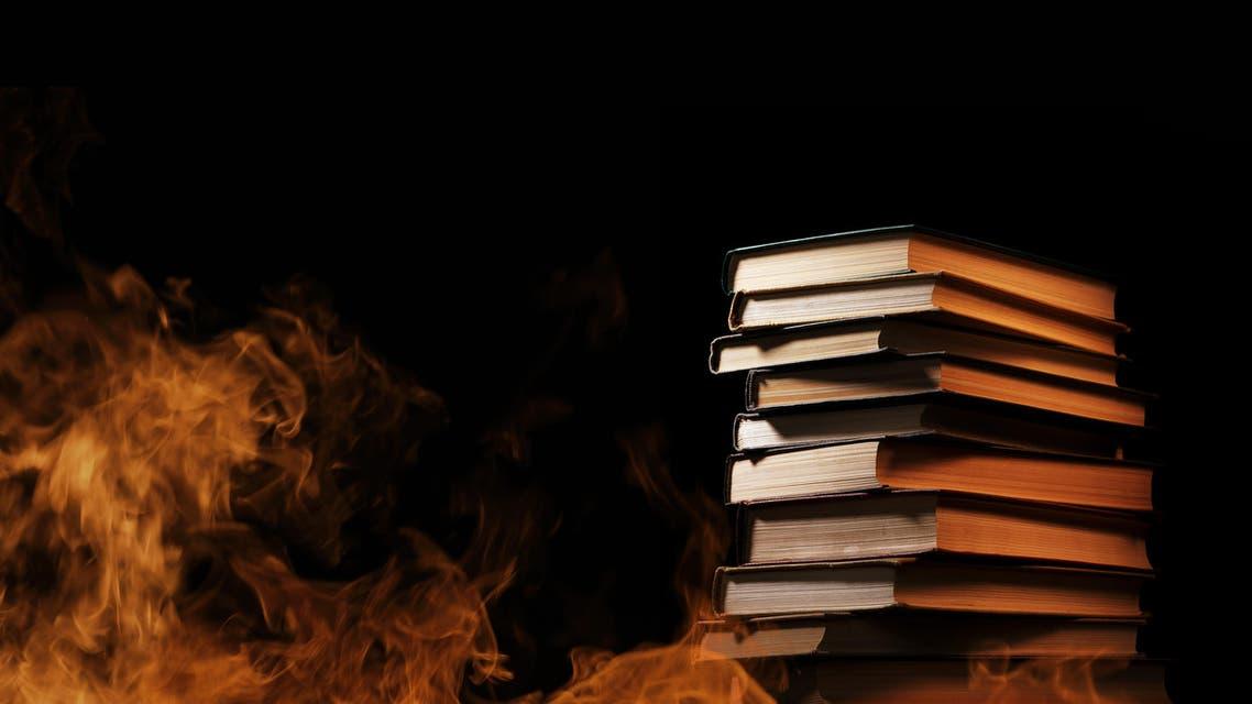 ISIS militants burn rare Iraqi manuscripts (Shutterstock)