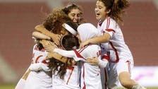 منتخب لبنان للناشئات يفوز بكأس العرب لكرة القدم