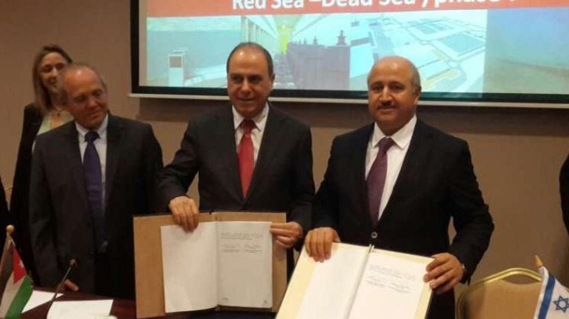 اتفاق بين الأردن واسرائيل لربط البحرين الأحمر والميت