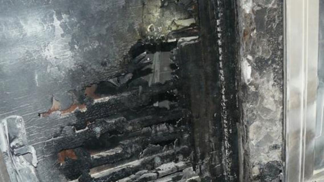 حرق كنيسة في القدس