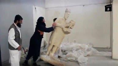 """تنديد شعبي ورسمي بجريمة """"داعش"""" بحق آثار الموصل"""