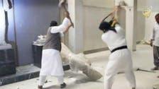 داعش کے ہاتھوں تاریخی نوادرات، مجسموں کی تباہی