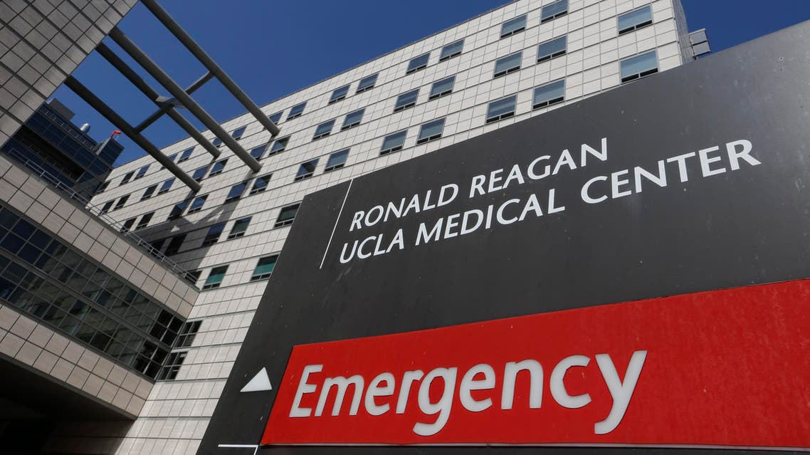 """The Ronald Reagan UCLA Medical Center in Los Angeles building is seen in Los Angeles, Thursday, Feb. 19, 2015. A """"superbug"""" outbreak is suspected in the deaths of two patients at UCLA Medical Center in Los Angeles. (AP)"""