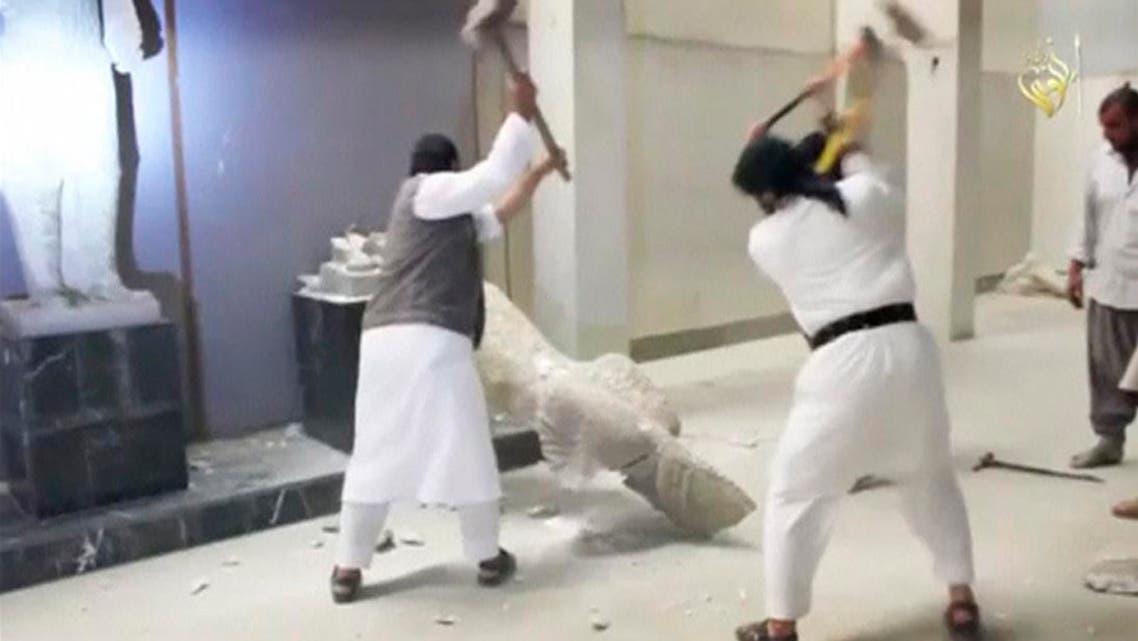 تدمير آثار الموصل