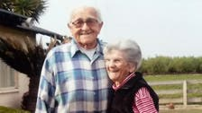 Couple married 67 years hold hands in final hours