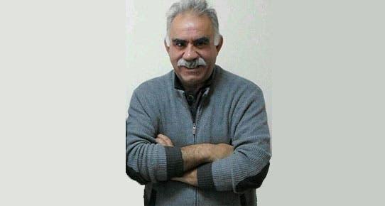 عبدالله أوجلان زعيم المتمردين الأكراد المسجون في تركيا