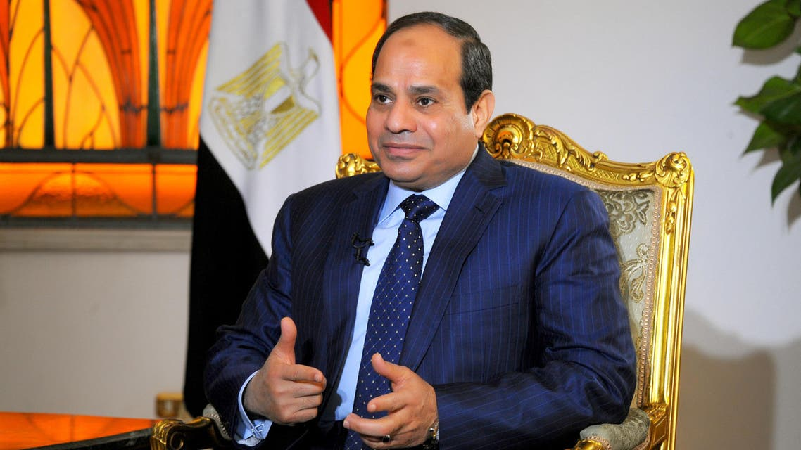 President Abdel Fattah al-Sisi interview with AA