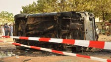 Two passers-by, accomplice die in Nigeria suicide bombing