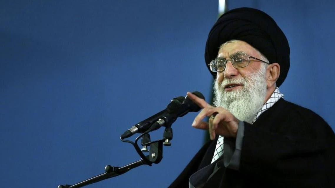 """I'm not into cinema and visual arts,"" Ayatollah Ali Khameni declared. (File photo: AP)"