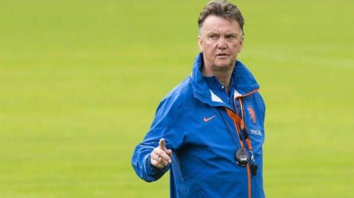 Van Gaal has come under scrutiny for implementing a number of different formations. (Reuters)