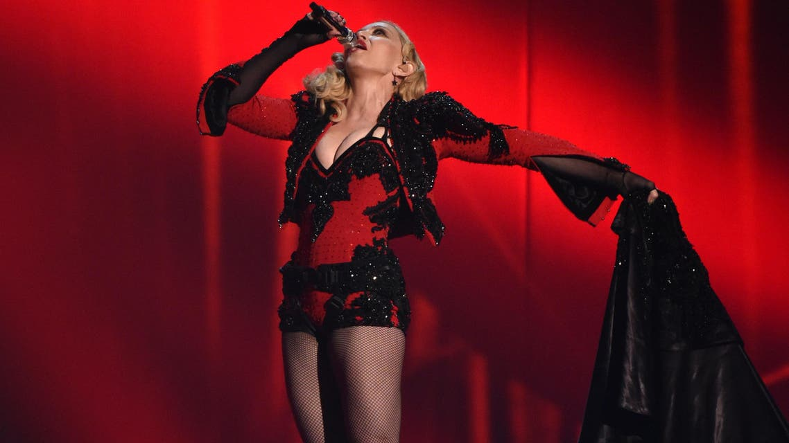 adonna performs at the 57th annual Grammy Awards on Sunday, Feb. 8, 2015, in Los Angeles. (File photo: AP)