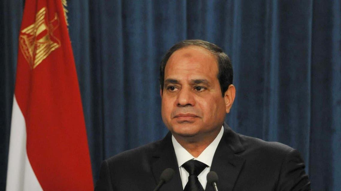 President Abdel Fattah al-Sisi AP