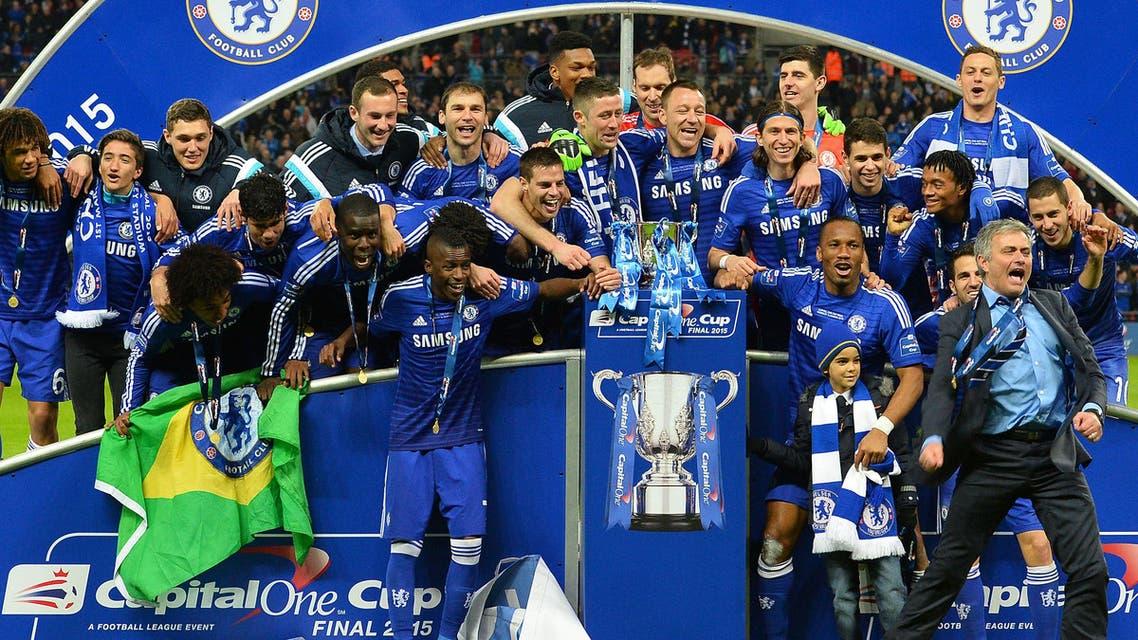 Jose Mourinho Chelsea AFP