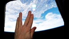 U.S. astronaut pays tribute to Star Trek actor's passing