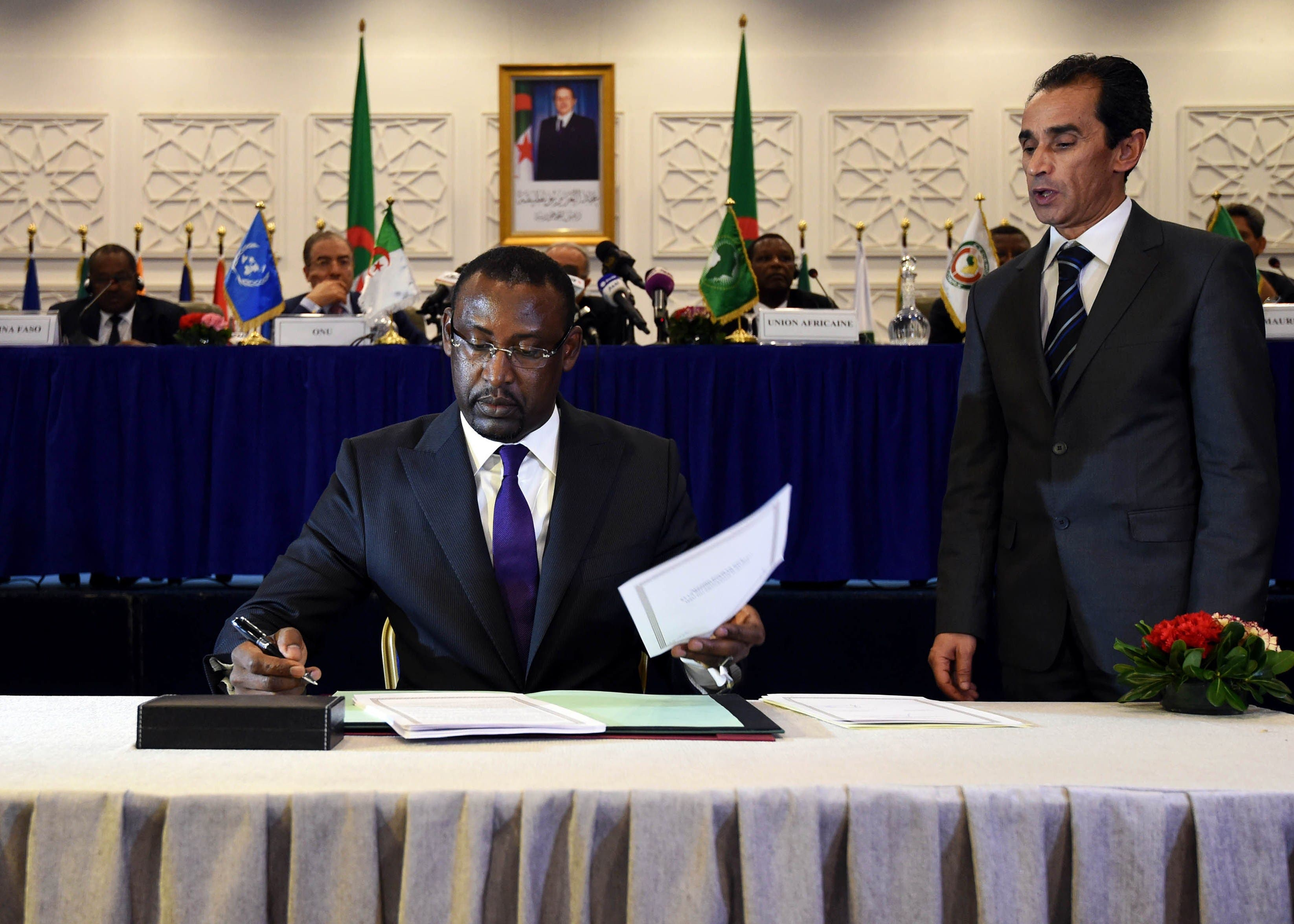 Malian Foreign Minister Abdoulaye Diop AFP