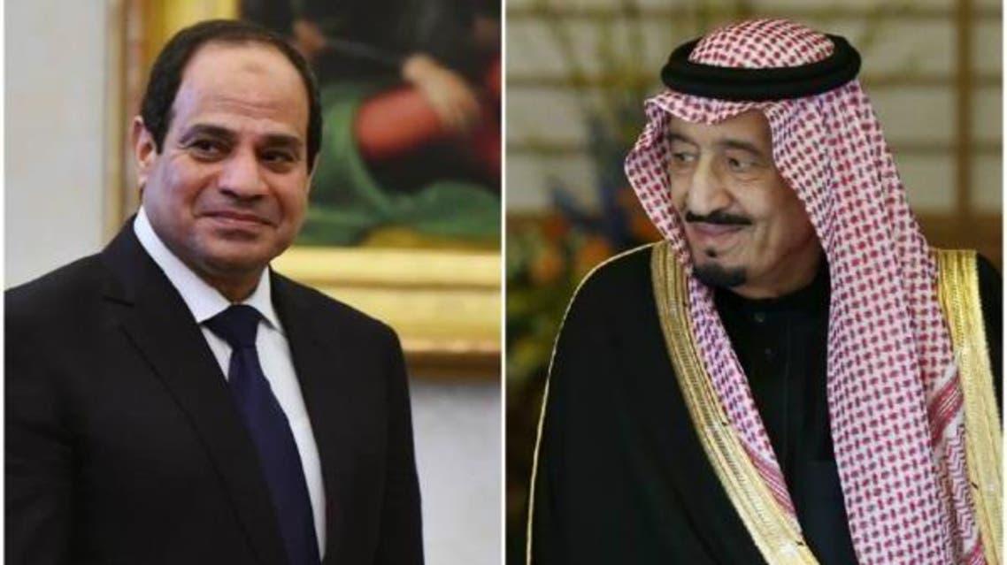 الملك سلمان والرئيس السيسي 3
