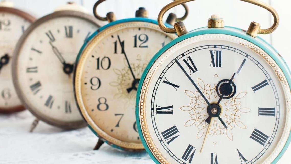 time clocks. (Shutterstock)