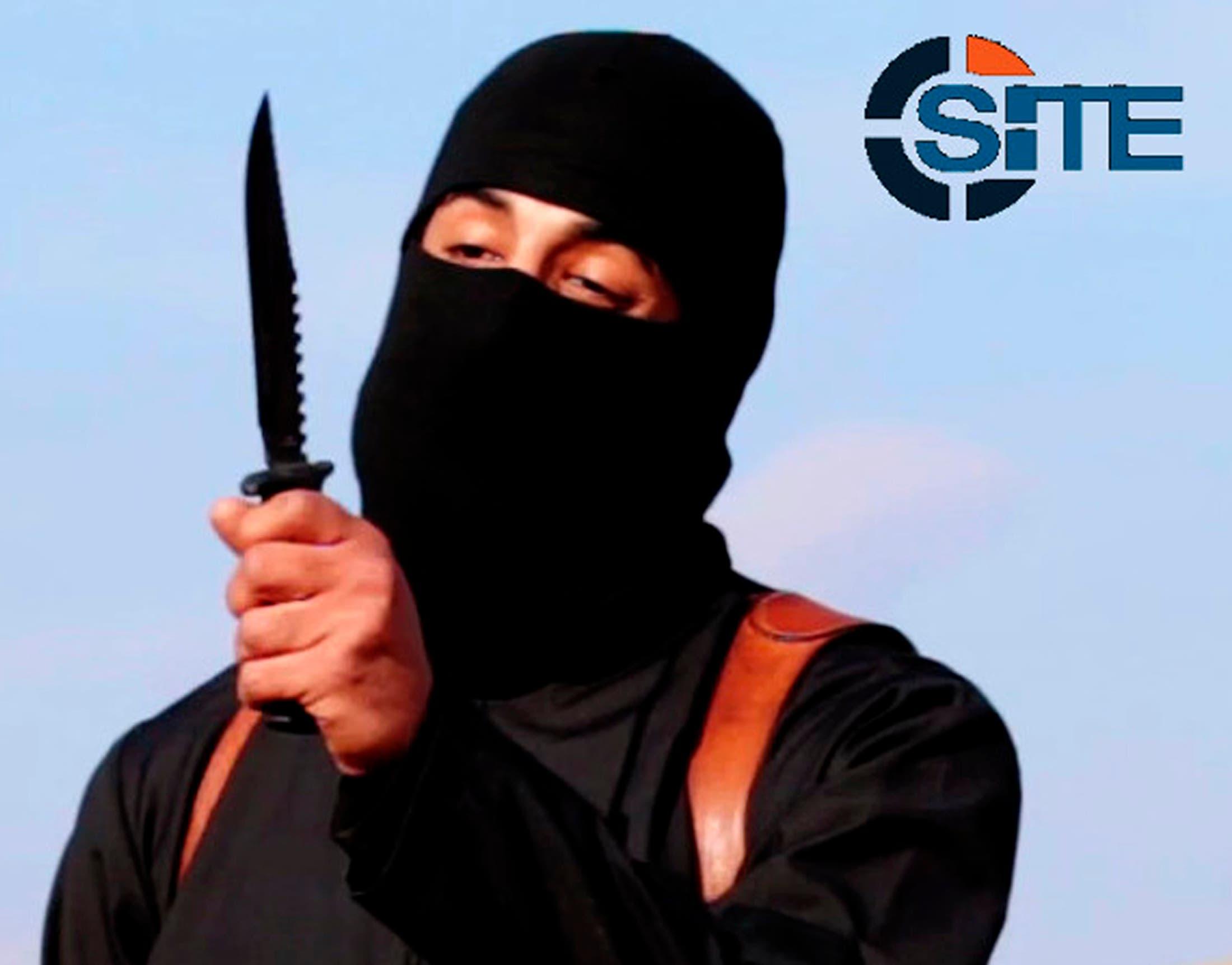 عنصر داعش المقتول محمد إموازي والمعروف باسم الجهادي جون