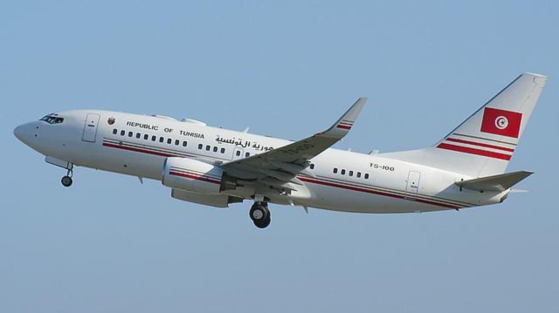 طائرة تابعة للرئاسة التونسية