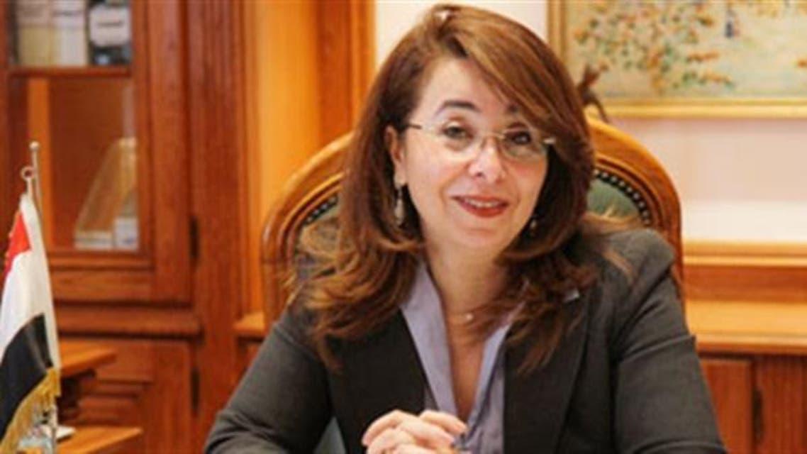 وزيرة التضامن الاجتماعي د. غادة والي