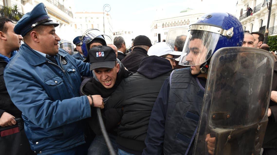 احتجاجات الغاز الصخري الجزائر