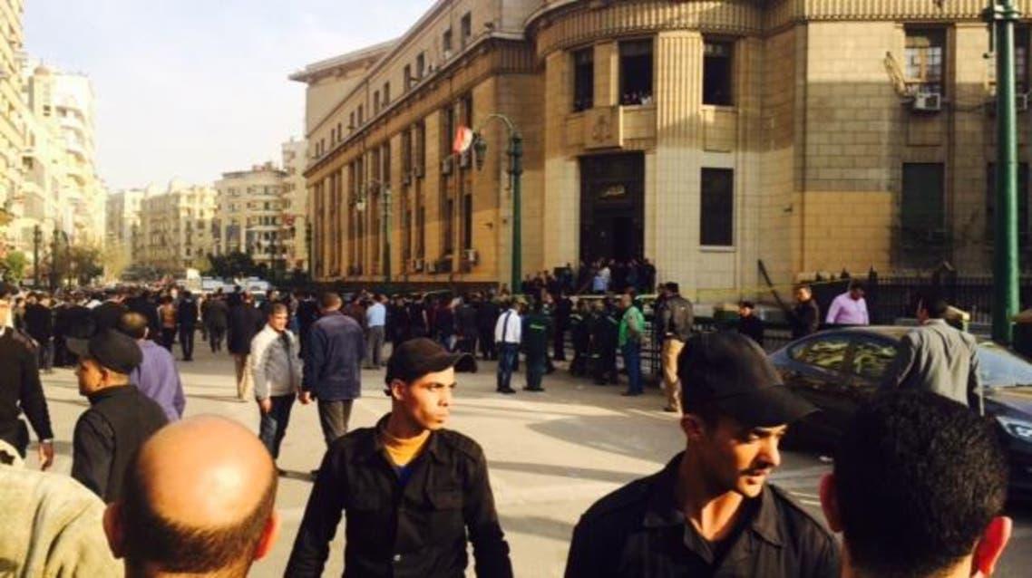 انفجار القاهرة رئيسي