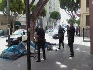 شاهد.. شرطة لوس أنجلوس تقتل مشرداً بدم بارد