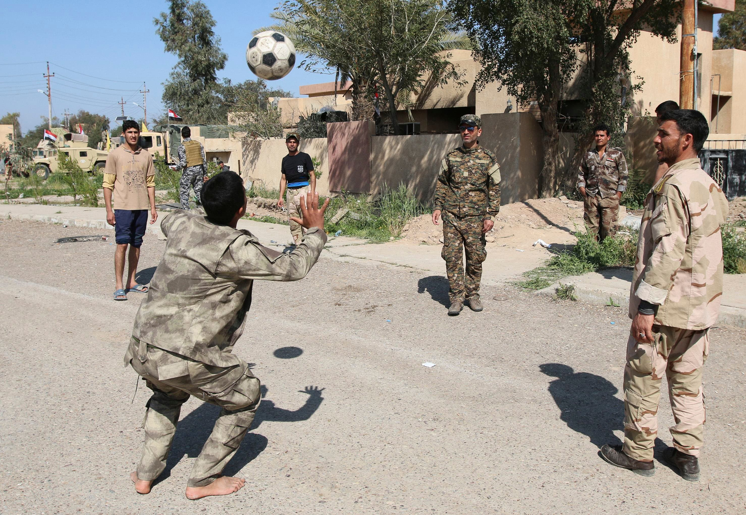 Iraq moves against ISIS in Tikrit