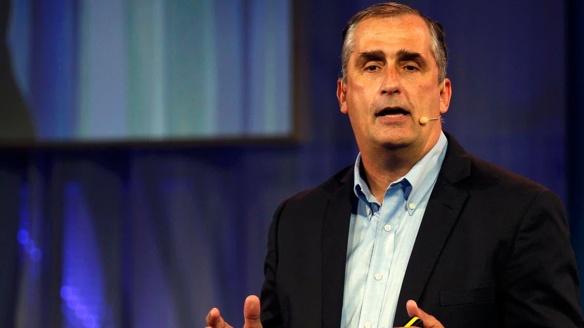 Intel's CEO Brian Matthew Krzanich Reuters