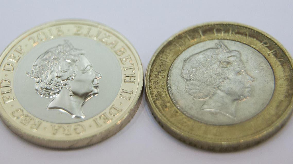 UK coins AFP