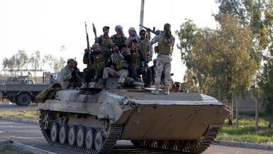 القوات العراقية المشتركة تحبط هجوم داعش على تكريت