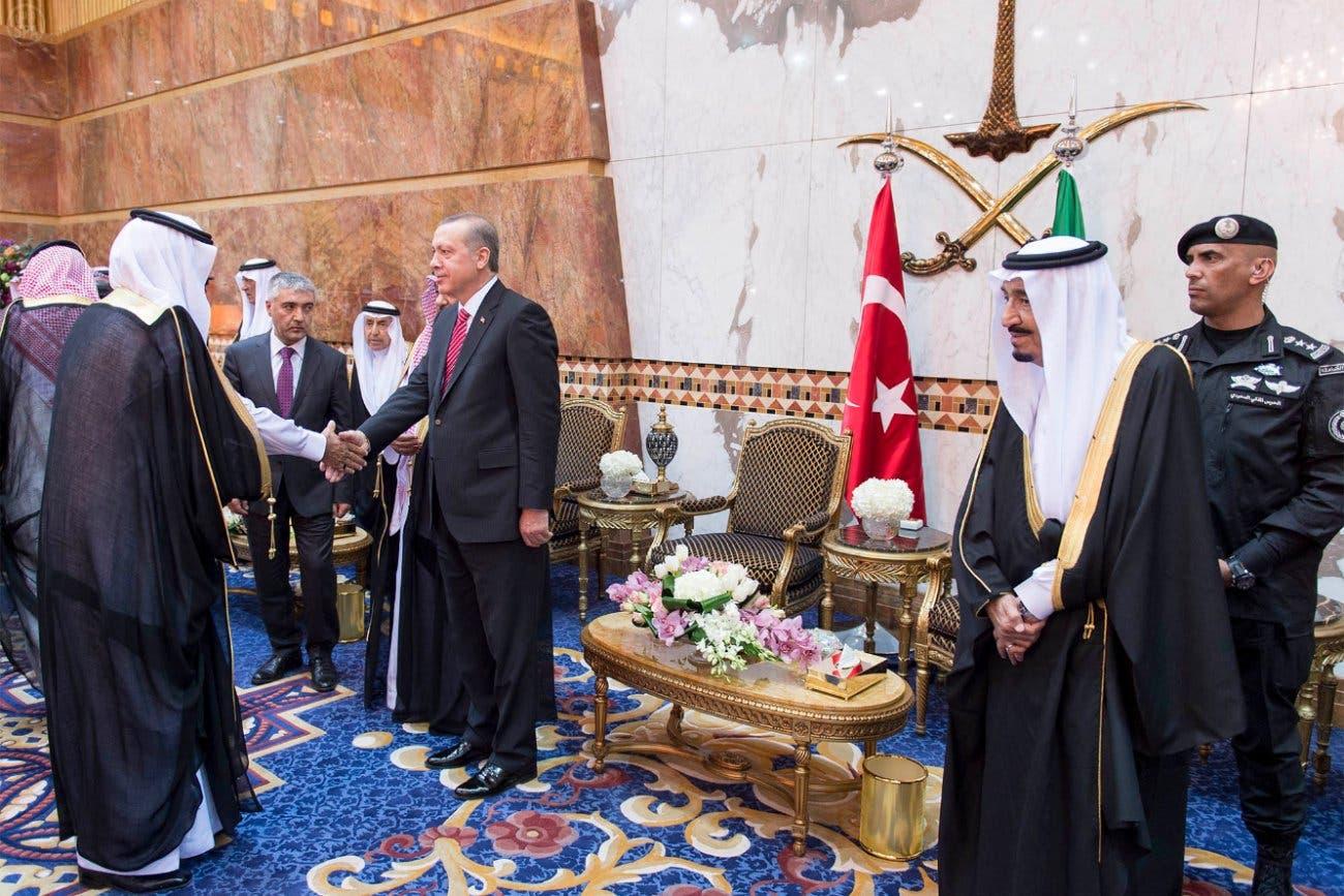 Erdogan in Saudi (SPA)