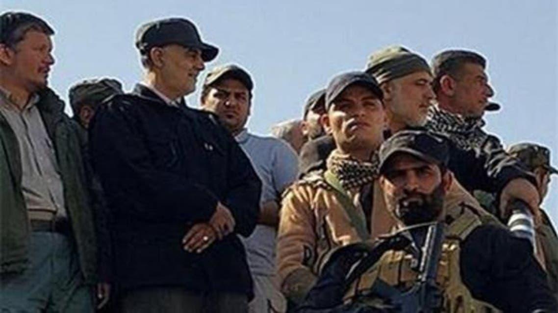 ایرانی جنرل قاسم سلیمانی عراق میں موجود ہیں۔