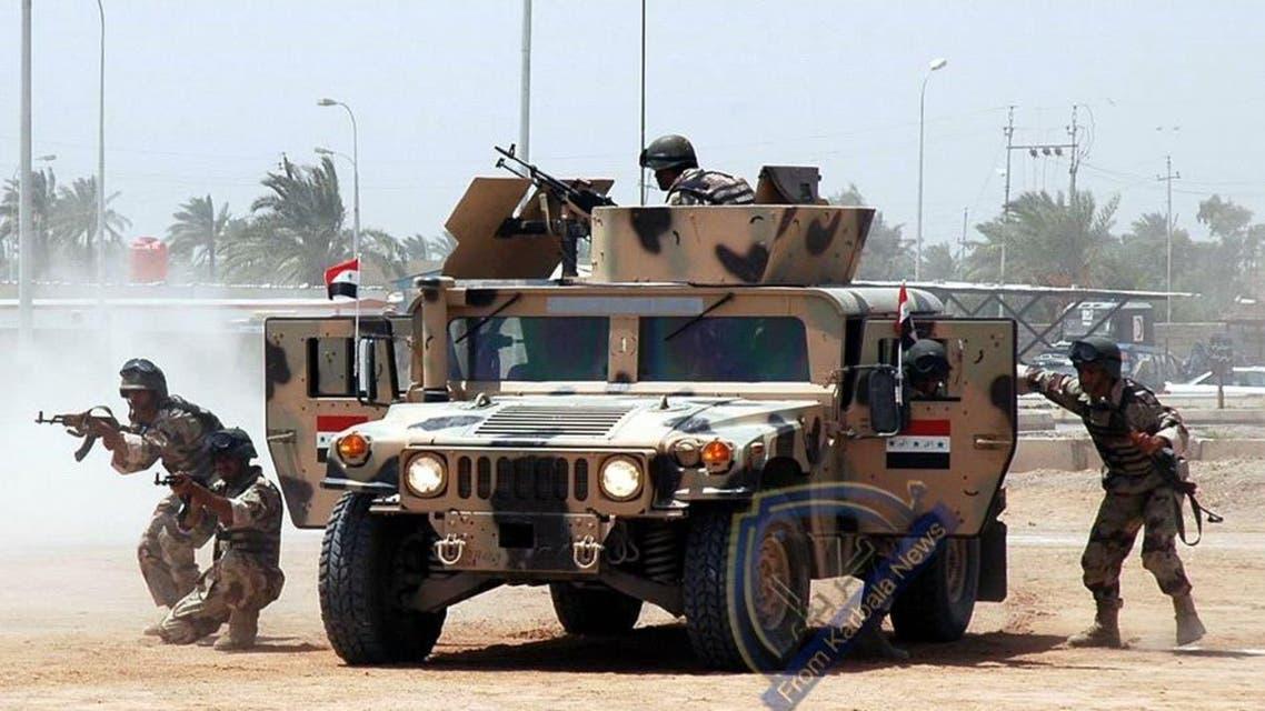 قوات عراقية في ديالى (أرشيفية)