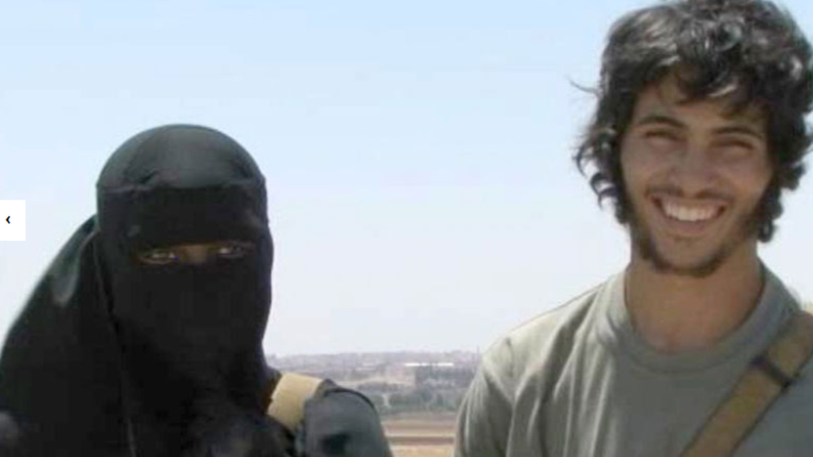 """ISIS recruit young brides using """"eye candy"""" photos (Image courtesy of Channel 4 news)"""