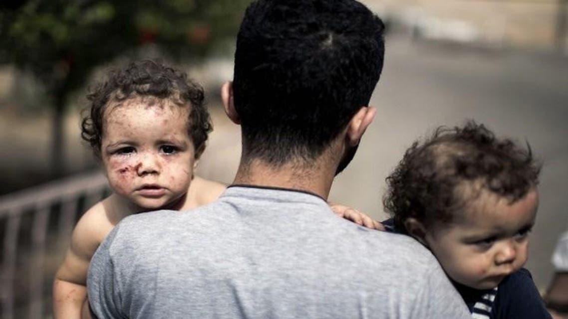 أطفال حرب غزة 2014