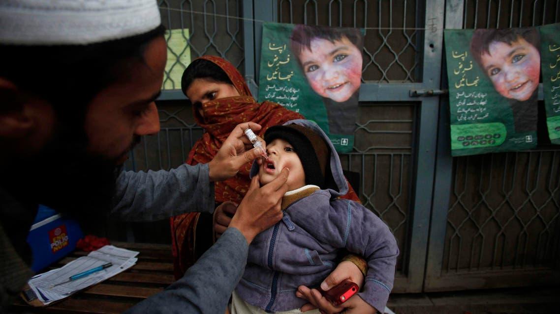 Pakistan polio Reuters